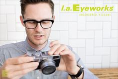 bbe2b5c1403 l.a.Eyeworks Frame  RERUN available at Eye Etiquette Optical Boutique in  Victoria