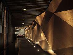 Japanese Restaurant Wall Design
