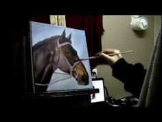 A lot of folks were requesting this video, so I finally put one together. How to paint a horse portrait with acrylic paints. I discuss the colors I use, brushes and thought process as I layer on the paint. Hope this helps! Like and subscribe to see future videos! :)  ***If youd like to learn more about painting and where to begin, check out my ...