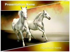 Zoology powerpoint template is one of the best powerpoint white horses powerpoint template is one of the best powerpoint templates by editabletemplates toneelgroepblik Images