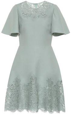 Valentino Wool and silk dress Alternative Mode, Alternative Fashion, Vintage Dresses, Nice Dresses, Garden Wedding Dresses, Dress Wedding, Dior, Ladies Dress Design, Silk Dress