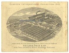 Glasgow, Locomotive, Vintage World Maps, Train, Ebay, Cards, Map