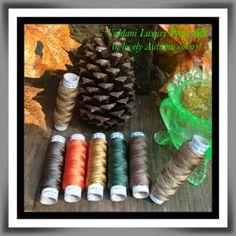 The Piney Woods Tatter: Gorgeous Valdani Luxury Pearl Silk in Autumnal tones.