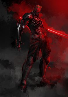 Armored Darth Maul ver 2 by ronaldesign on DeviantArt