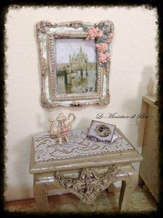 112 cuadro plaza san marco venecia henry bacon miniatura casa de