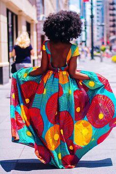 Ankara robe africaine vêtements robe africaine African Print #Africanfashion