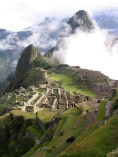 Brume sur le Machu Pichu.© DR