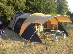 cabanon stratos. camping in france.