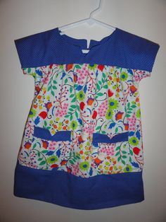 oliver and s, ice cream dress. flower print is moda hoopla.