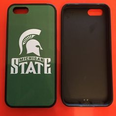 Michigan state phone case ‼️‼please specify which case you need this for & which one you want to order I have all in stock ‼️‼️ one-piece ultra thin case fits easily onto your phone providing protection to back and sides. • Fit for iPhone 6S or 6 6PlusS or 6 plus & 5, 5c, 4, or Samsung 2,3,4 or 5. • Ultra thin, adds no bulk to your phone • Provides protection and prevents scratches, chips and dirt • Precisely cut openings to allow full access to all the functions of your phone Accessories…