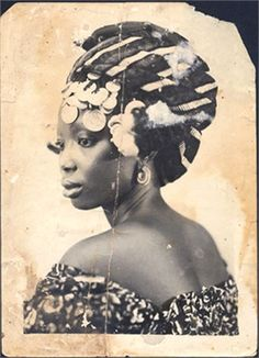 African hairstyle. Source Vogue Black