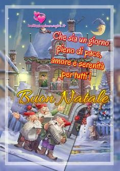 Natale Santa Custodia Bello 3D Cartoon
