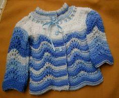 Coat made by Ana Maria Antunes, with Nanny Print yarn/Casaco feito por Ana Maria Antunes, com o fio Nanny Print