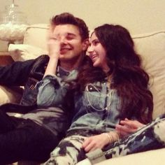 This picture was taken the day they did a live video chat. to see go to utube and type in Jack Griffo and Ryan Newman Jack Griffo Girlfriend, The Thundermans, Ryan Newman, Kira Kosarin, Nickelodeon Shows, Doja Cat, Celebs, Celebrities, Going Crazy