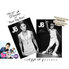 """Justin Bieber"" by oneposter on Polyvore"