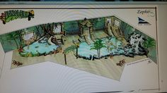Indoor jungle themed play pools Play Pool, Pools, Van, Indoor, Interior, Swimming Pools, Vans, Ponds