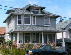 American Foursquare Style Home - Daily Bungalow - Astoria , OR | Flickr - Photo Sharing!