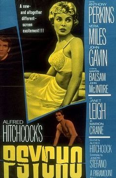 Psycho - Just in time for Halloween on 10/29 @SundanceMadison. Directed by Alfred Hitchcock. With Anthony Perkins, Janet Leigh, Vera Miles, John Gavin. A Phoenix secretary steals $40,000 from her employer's client, goes on the run and checks into a remote motel run by a young man under the domination of his mother.