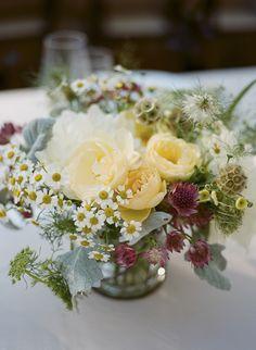 #scabiosa-pod  Photography: Gia Canali - giacanali.com  Read More: http://www.stylemepretty.com/california-weddings/2014/11/10/rustic-santa-cruz-mountain-wedding/
