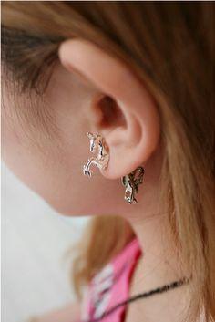 Unicorn earring by ROWKY SHOP