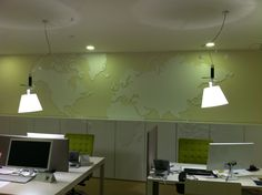 Decoração de paredes interiores com Pvc Recortado