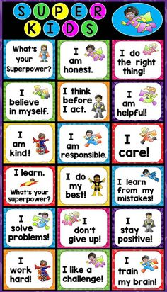 FREE Growth Mindset Posters, Kindness Counts Posters, and Bulletin Board Banner! Also, ideas to help kids develop these essential traits. What Is Growth Mindset, Growth Mindset For Kids, Growth Mindset Classroom, Growth Mindset Activities, Growth Mindset Posters, Fixed Mindset, Superhero Classroom Theme, Classroom Rules, Interstellar