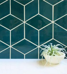 Channel the soothing waters of Lake Superior with our teal bathroom tiles. These rhomboid ceramic tiles are handmade for a unique, one-of-a-kind finish. Teal Bathroom Decor, Zen Bathroom, Rustic Bathroom Vanities, Rustic Bathrooms, Bathroom Colors, Bathroom Styling, Bathroom Sets, Teal Bathrooms, Bathroom Inspo