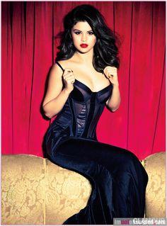 Slena Gomez - Glamour Magazine