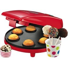 Cake Pop Maker - use this awesome appliance to create the delicious Carrot Cake Pops! Cooking Appliances, Kitchen Appliances, Cake Pop Maker, Buy Kitchen, Christmas Shopping, Homemaking, A Good Man, Kitchenware, Dog Bowls