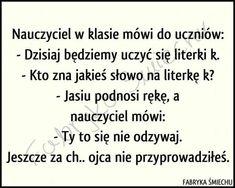Demotywatory.pl Funny Lyrics, Good Mood, Lol, Memes, Quotes, Pikachu, Polish, Funny Stuff, Quotations