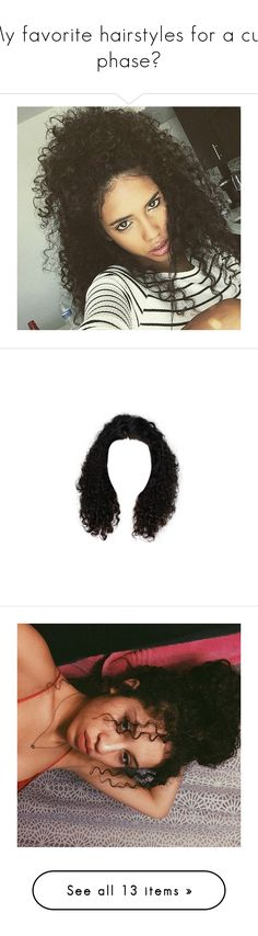 """My favorite hairstyles for a curl phase😘"" by lil-emo-guru ❤ liked on Polyvore featuring Topshop, Estradeur, NIKE, Casetify, Maybelline, Lancôme, ZeroUV, hair, hairstyles and dolls"