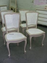 Chaises cann es peintes recherche google chaises for Recherche chaises