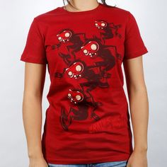 Plants vs. Zombies Store: Bobsled Zombies Ladies T-Shirt
