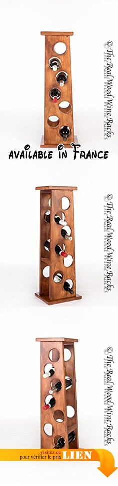 Gapi Mebel Range-bouteilles en bois Capacité 7 bouteilles droit Gapi Mebel. Flamingo 7. De haute qualité. Produit fait main. Casier à vin. Peut contenir 7 bouteilles #Kitchen #HOME_FURNITURE_AND_DECOR