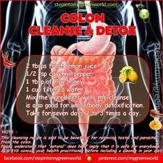 Colon cleanse and detox recipe