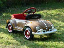 1960 Steel Pedal Car Custom Brown Bug