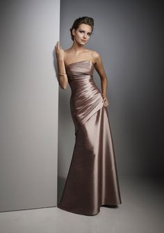 Wedding Dresses With Color | ... Dress Colors for Your Summer Wedding » Elegant Bridesmaid Dresses