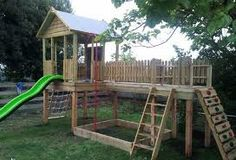 how to build an easy fort cubby for kids - Google Search