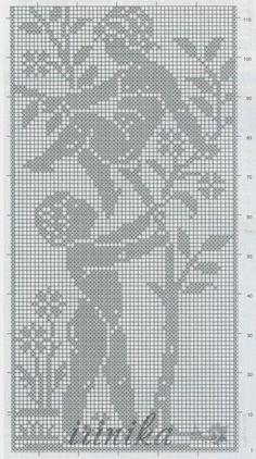 ru / Photo # 11 - different angels - irinika Crochet Square Patterns, Christmas Crochet Patterns, Crochet Diagram, Crochet Motif, Crochet Doilies, Crochet Butterfly, Crochet Flowers, Fillet Crochet, Crochet Angels