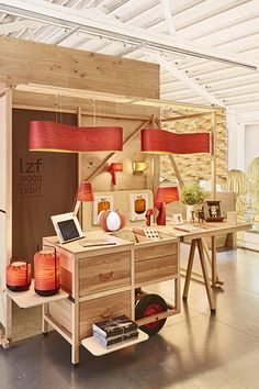 Lámparas de chapa de madera / LZF Lamps