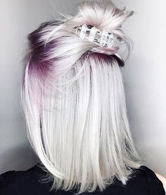 ombre roots & ice crown