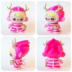 "SpankyStokes.com | Vinyl Toys, Art, Culture, & Everything Inbetween: For sale on… Instagram?!? Tomodachi's ""The Queen of Candy Cove"" custom Munny!"