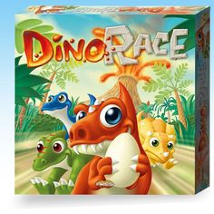 Dino Race - Juego De Estrategia Para 2-4 Jugadores DEVIR DEV-BGDINO Kinuma.com
