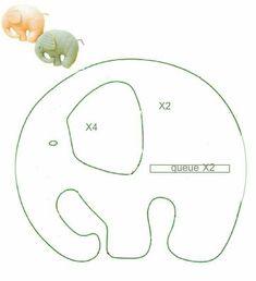 éléphant pour porte clé