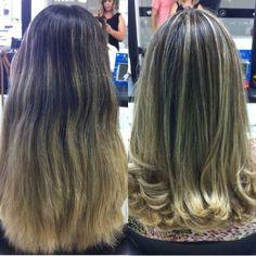 Finalizando a segundona #retoquedemechas #corte #escovamodelada na linda @larissafgiannini por @elisalima.hair @tayllorferreira #subeautyoficial #loiro #hair by tayllorferreira http://ift.tt/1O06fQM