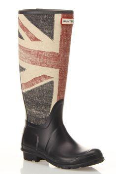 Hunter Original Brit Rain Boots