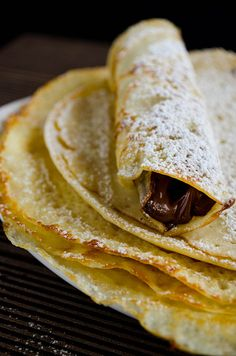 """""""Very Thin Gluten Free Crepes"""" (made with rice flour)"""