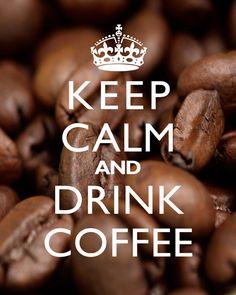 Keep+Calm+And+Drink+Coffee++8x10+Art+Print+Beans+by+cjprints,+$12.99