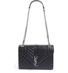 6d6c8bb8b94 Free shipping and returns on Saint Laurent Medium Monogram Quilted Leather  Shoulder Bag at Nordstrom.