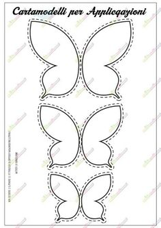 butterfly template example … | Butterfl…